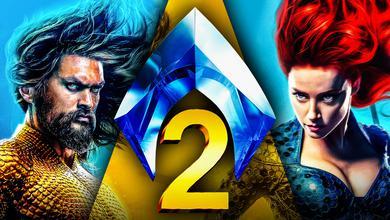 Aquaman 2 Jason Momoa Amber Heard