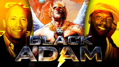 Black Adam Hawkman comics