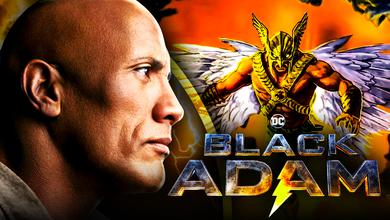 Dwayne Johnson as Black Adam Hawkman