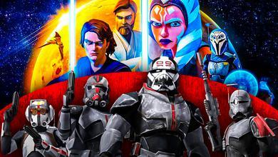 Star Wars Bad Batch Clone Wars