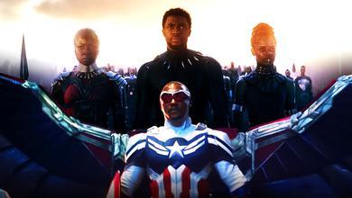 Sam Wilson Captain America Black Panther