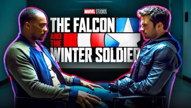 Sam, Bucky, The Falcon and the Winter Soldier