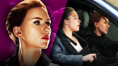 Scarlett Johansson Yelena Belova Car Chase
