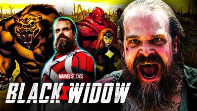 Black Widow David Harbour