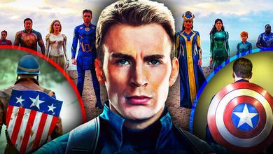Chris Evans as Captain America Eternals