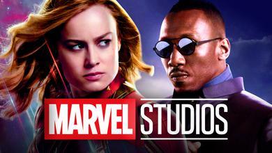 Captain Marvel, Blade, Marvel Studios Logo