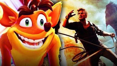 Crash Bandicoot, Nathan Drake from Uncharted