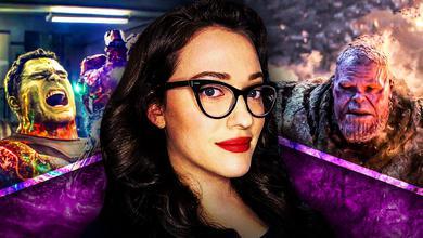Kat Dennings Darcy Thanos Hulk