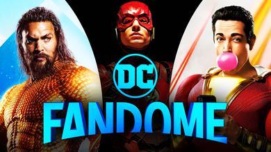 DC FanDome Aquaman Flash Shazam