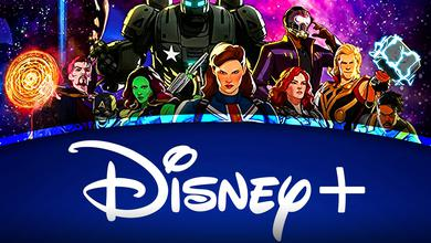 Marvel What If Characters Disney Plus logo