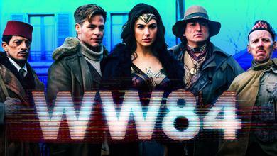 Wonder Woman 2017 Movie, Chris Pine, Gal Gadot, WW84 logo