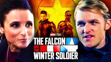 Wyatt Russell Julia Louis Dreyfus Falcon and Winter Soldier