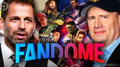 Zack Snyder, Justice League, Avengers, Kevin Feige, FanDome Logo
