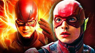 Flash Arrowverse Ezra Miller