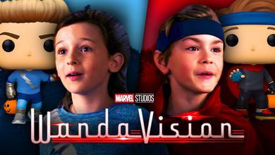 WandaVision Billy Tommy Twins Funko Pops