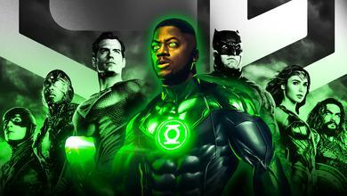 John Stewart Green Lantern with Zack Snyder's Justice League