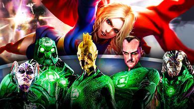 Green Lantern Corps Supergirl