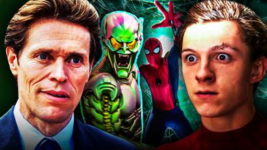 Spider-Man, Tom Holland, Willem Dafoe, Goblin
