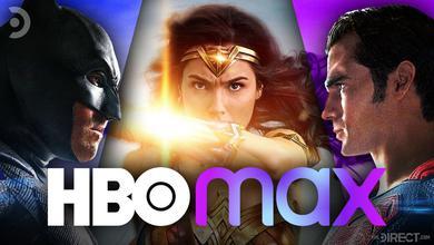 Batman, Wonder Woman, and Superman, HBO Max logo