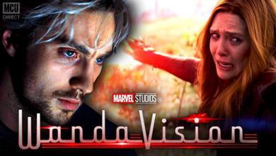 Quicksilver and Wanda in WandaVision