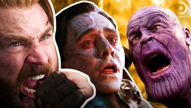Captain America, Loki, Thanos
