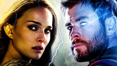 Natalie Portman's Jane Foster, Chris Hemsworth's Thor