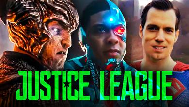 Justice League Superman Mustache Steppenwolf