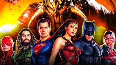 Justice League with David Thewlis Ares