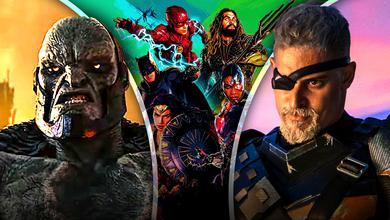Darkseid, Justice League, Deathstroke