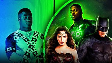 Green Lantern Justice League Batman Wonder Woman