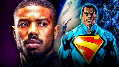 Michael B Jordan Superman Black