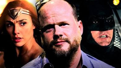 Gal Gadot as Wonder Woman, Joss Whedon, Ben Affleck as Batman