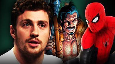 Aaron Taylor Johnson Spider-Man Kraven