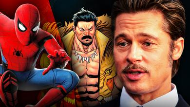 Brad Pitt Spider Man Kraven