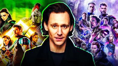 Tom Hiddleston Thor Ragnarok Avengers Endgame posters