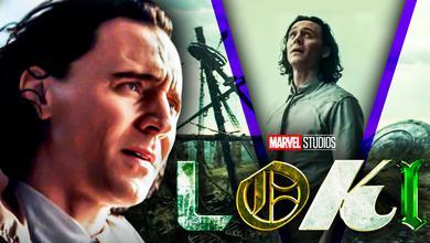 Loki, Tom Hiddleston, Pirate Ship, UFO, Loki series logo