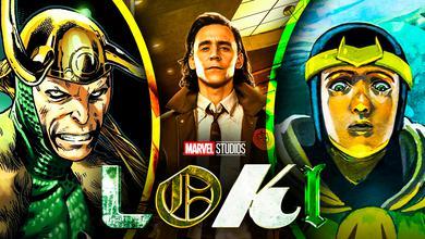 Tom Hiddleston as Loki Kid Loki Old Loki