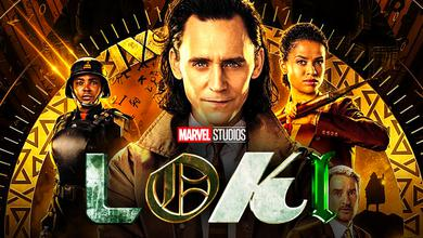 Tom Hiddleston as Loki poster