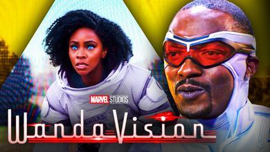 Captain America Anthony Mackie Monica Rambeau Teyonah Parris