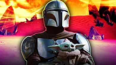 Mandalorian and Baby Yoda Fortnite Season 5 Thumbnail