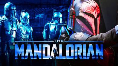 The Mandalorian logo, Mando, Mandalorians