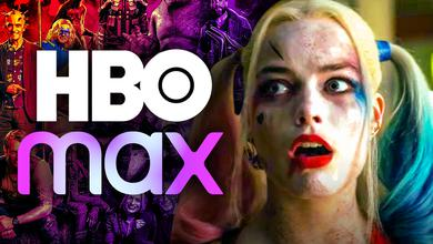 HBO Max logo, Harley Quinn