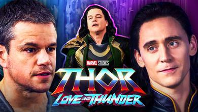 Matt Damon Thor 4 Love and Thunder Loki