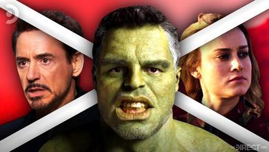 Smart Hulk, Tony Stark, Carol Danvers