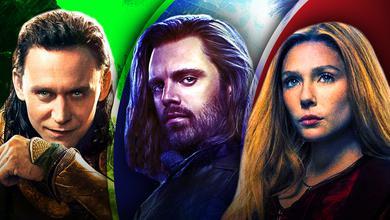 Loki, Winter Soldier, Scarlet Witch