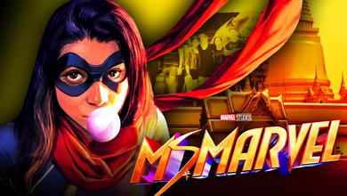 Ms. Marvel show logo costume