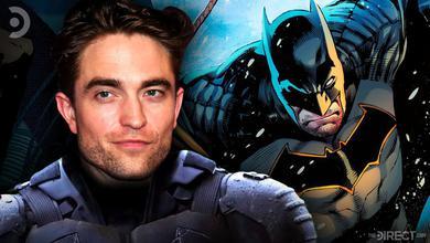 Robert Pattinson in the Batman Suit and DC Comics Batman