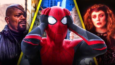 Nick Fury, Spider-Man, Scarlet Witch