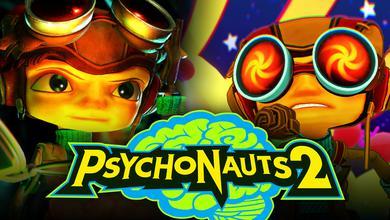 Psychonauts 2 characters, logo