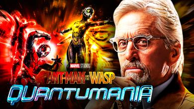 Ant-Man and the Wasp alongside Michael Douglas as Hank Pym